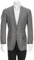Tom Ford Wool Plaid Blazer