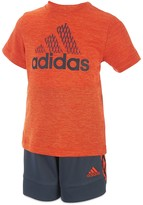 adidas Boys' Full Court Tee & Shorts Set