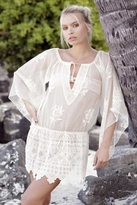 Nightcap Clothing Falling Flowers Tunic in Natural