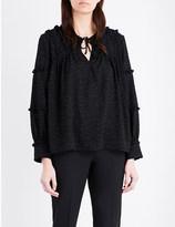 IRO Montana chiffon blouse