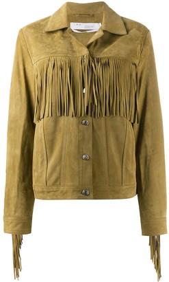 IRO Russel fringed jacket
