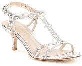 Pelle Moda Abbie2 T-Strap Buckle Closure Dress Sandals