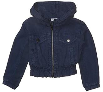 Splendid Littles Light Twill Jacket (Toddler/Little Kids) (Indigo Coast) Girl's Clothing