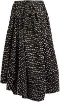Rosie Assoulin Full A-line gazar skirt