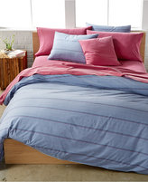 Calvin Klein Washed Essentials Color Wash Queen Duvet Cover Set