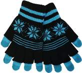 iTouch Women's Touchscreen 3 in 1 Gloves - One Size Fits All