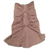 Saint Laurent Satin Skirt