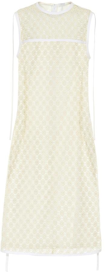 Loewe Floral lace dress
