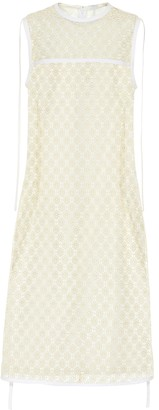 Loewe Floral lace dress
