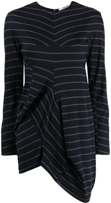 Chalayan Striped Print Knitted Top