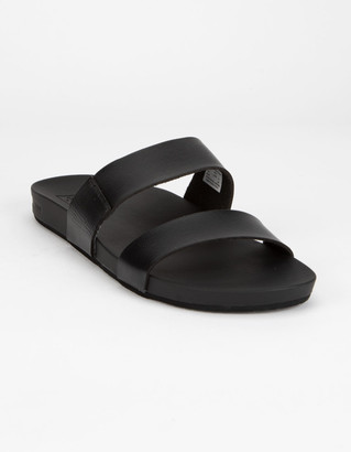 Reef Cushion Bounce Vista Black Womens Sandals