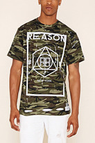 Forever 21 FOREVER 21+ Reason Camo Distressed Tee