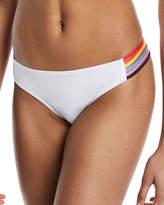 Milly Ari Strappy Hipster Swim Bikini Bottoms