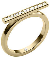 Michael Kors Pave Gold-Tone Ring