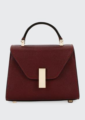 Valextra Iside Micro Saffiano Top-Handle Bag