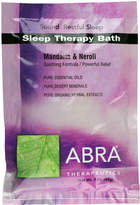 Abra Sleep Therapy (Madarin + Neroli) Bath by 3oz Powder)