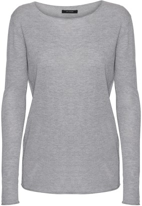 Oh Simple - Light Grey Silk Cashmere Sweater - xs | light grey - Light grey