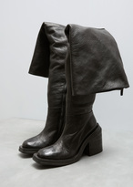 Marsèll Black Scatolo Over The Knee Boot