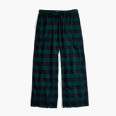 Madewell Flannel Bedtime Pajama Pants in Dark Plaid
