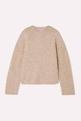 Totême Biella Oversized Knitted Sweater - Cream