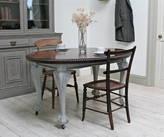Distressed but not Forsaken Ornate Victorian Extending Dining Table