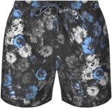 HUGO BOSS Black Piranha Swim Shorts Blue