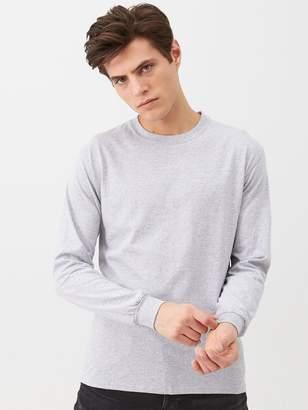 Very Long Sleeved T-Shirt - Grey