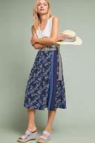 Eri + Ali Shimmer Printed Midi Skirt