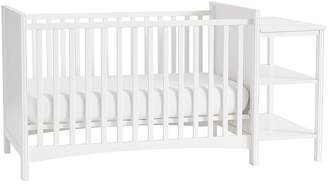Pottery Barn Kids Hayden Crib & Changing Table Combo, Bright White