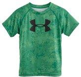 Under Armour Boys' Pre-School UA Nightvision Camo Slider T-Shirt