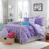 Bed Bath & Beyond Julissa Full/Queen 3-Piece Comforter Set in Purple