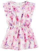 Osh Kosh 2-Piece Floral Chiffon Dress