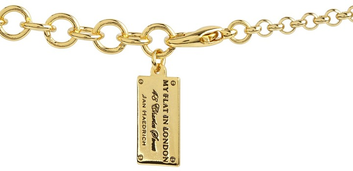 Silverstone My Flat In London Hidden Assets Charm Holder Necklace