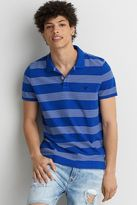 American Eagle Outfitters AE Stripe Jersey Polo