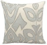 Kathy Ireland Home® by Gorham Collage Square Throw Pillow in Silver