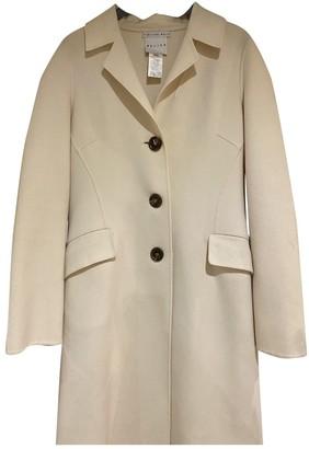 Celine Beige Cashmere Coat for Women Vintage