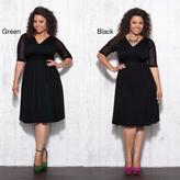 Kiyonna Women's Plus 'Avery' Mesh Dress