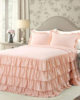 Lush Decor Allison Ruffle Skirt Bedspread Set