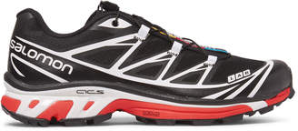 Salomon S/lab Xt-6 Lt Adv Mesh And Rubber Running Sneakers