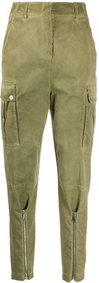 Pinko Tapered-Leg Cargo Trousers