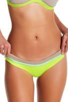 Maaji Lime Collage Reversible Signature Cut Bikini Bottoms