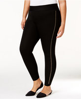 Belldini Plus Size Embellished Leggings