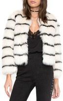 Amuse Society Women's Tahlia Faux Fur Jacket