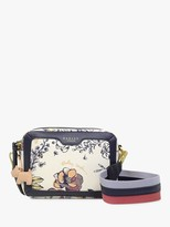 Radley London Sketchy Floral Cross Body Bag, Bright White