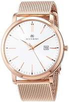 Accurist Unisex-Adult Watch, Analogue Classic Display and Stainless Steel Strap 7211.01
