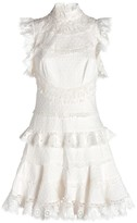 Zimmermann Peggy Embroidered Dress