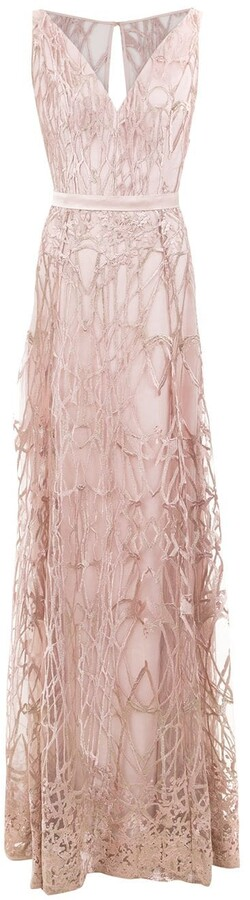Tufi Duek Textured Long Dress
