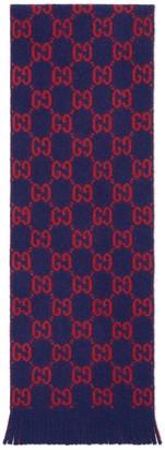 Gucci Children's GG wool scarf