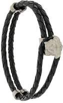 Versace braided Medusa bracelet