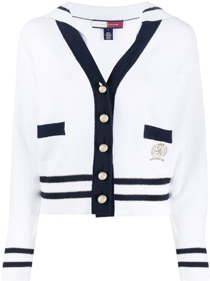 Tommy Hilfiger sailor-collar cardigan
